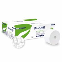 Lucart hartie igienica alba, sistem auto-cut, 2 straturi, 12 role/set