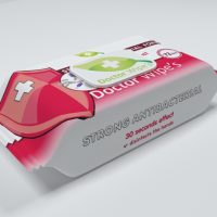 Servetele umede antibacterian