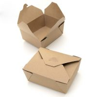 Cutie carton pentru meniu